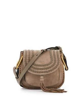 Chloe Hudson Small Suede Shoulder Bag $2,090 thestylecure.com