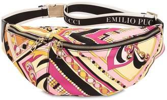 Emilio Pucci Printed Nylon Logo Belt Pack