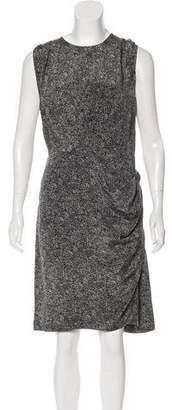 3.1 Phillip Lim Silk Printed Knee-Length Dress