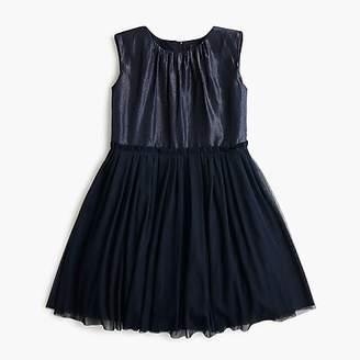 J.Crew Girls' tulle-skirted dress