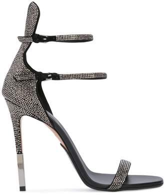 Balmain crystal embellished sandals