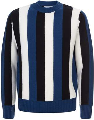 Sandro Vertical Stripe Sweater