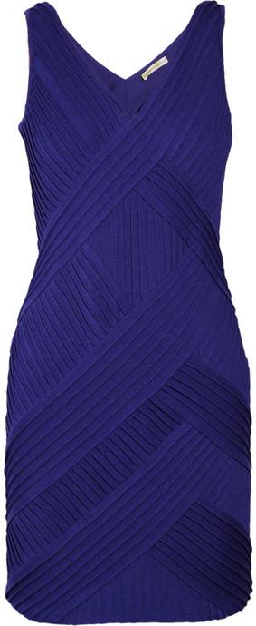 Catherine Malandrino Ribbed stretch-jersey dress
