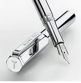 Ted Baker Premium Fountain Pen Chrome