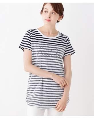 3can4on (サンカンシオン) - サンカンシオン ドットチュール重ねTシャツ