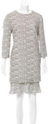 Chloé Long Sleeve Knee-Length Dress