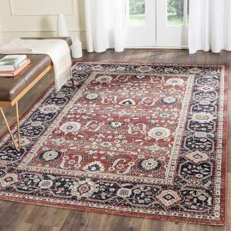 Safavieh Artisan Collection ATN322R Cotton Area Rug, 4 Feet by 6 Feet