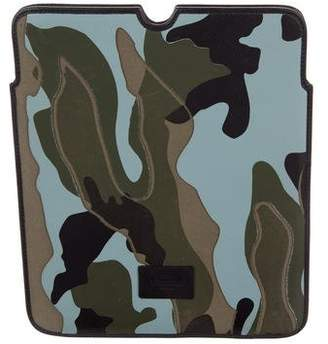 Valentino Camouflage Tablet Holder