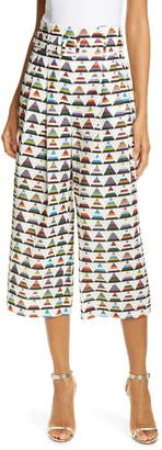 Ted Baker Colour by Numbers Boa Triangle Print Crop Pants