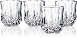Longchamp Cristal D'Arques Set of 4 Double Old Fashioned Glasses