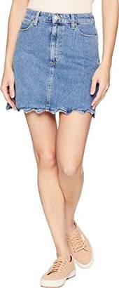 Joe's Jeans Women's Bella HIGH Rise Cut Skirt