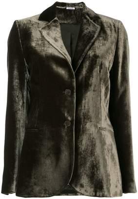 P.A.R.O.S.H. Rocking velvet blazer