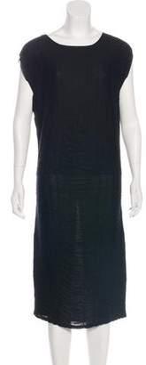 Saint Laurent Silk-Blend Dress