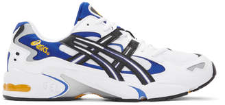 Asics White and Black Gel-Kayano 5 OG Sneakers