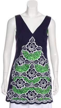 Lilly Pulitzer Sleeveless Embroidered Tunic