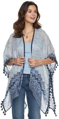 Sonoma Goods For Life Women's SONOMA Goods for Life Tasseled Paisley Kimono