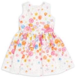 Little Girl's Floral-Print A-Line Dress $112 thestylecure.com