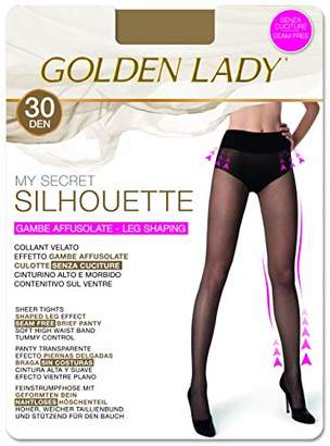 39e34b2d5 Golden Lady Goldenlady Women s My My Secret Silhouette 30 3p Hold-Up  Stockings