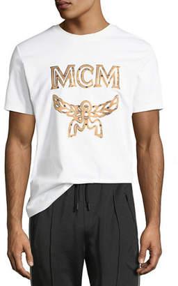 MCM Logo Cotton T-Shirt
