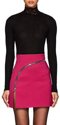 Alexander Wang Women's Lace-Turtleneck Wool-Blend Sweater