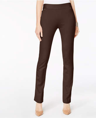 INC International Concepts I.n.c. Pull-On Straight-Leg Pants, Created for Macy's