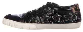 Ash Patent Leather Low-Top Sneakers