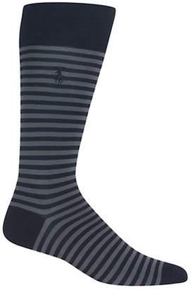 Polo Ralph Lauren Mercerized Tonal Stripe Socks