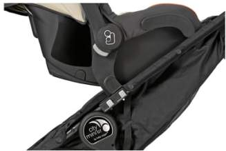 Baby Jogger City Mini(R) Double/City Mini(R) GT Double Stroller to Cybex & Maxi-Cosi(R) Car Seat Adapter