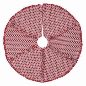Latitude Run Red Stitched Mini Tree Skirt