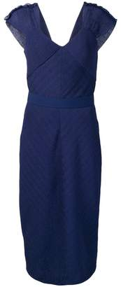 Max Mara fitted shift dress