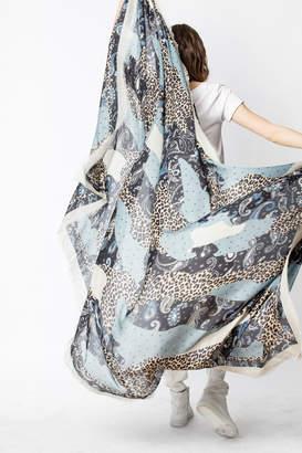 Zadig & Voltaire Maxy Patchwork scarf