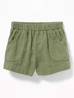 Old Navy Pull-On Utility Shorts for Toddler Girls