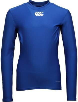 Canterbury of New Zealand Junior Boys ThermoReg Long Sleeve Baselayer Top Olympian Blue