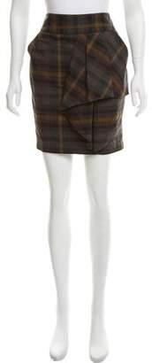 MICHAEL Michael Kors Plaid Mini Skirt