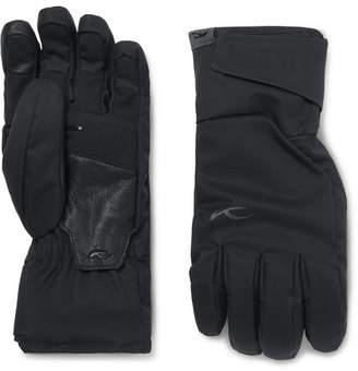 Kjus Formula Leather-Trimmed Ski Gloves