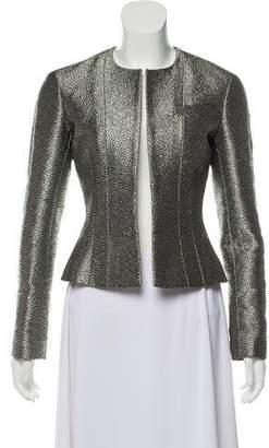Chanel Textured Metallic Jacket