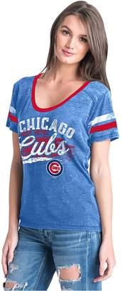 New Era Women's Chicago Cubs Jersey Tee