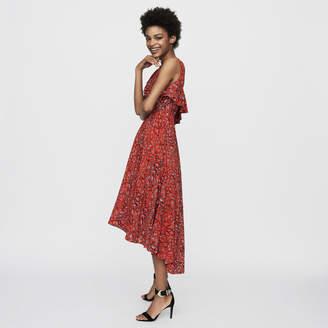 Maje Asymmetric sleevless dress