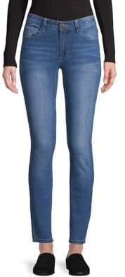 Lord & Taylor Design Lab Raw Edge Skinny Jeans