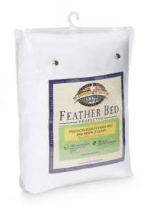 Pacific Coast Feather Feather Bed Protector, California King
