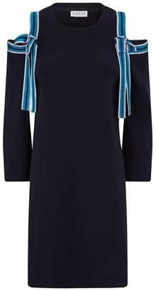 Claudie Pierlot Ribbon Sleeve Sweater