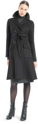 Max Studio double weave wool wrap coat