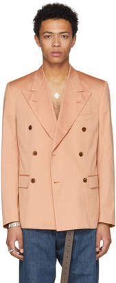 Maison Margiela Pink Double Breasted Blazer