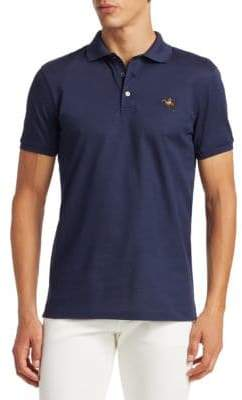 Ralph Lauren Purple Label Three-Button Short Sleeve Polo