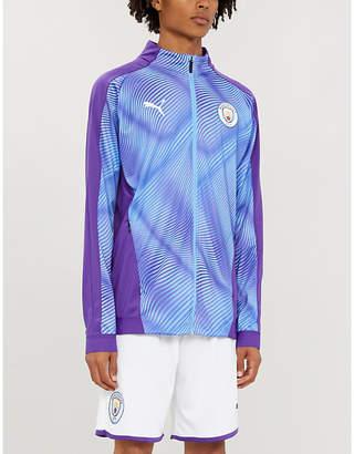 Puma Manchester City high-neck jersey football jacket