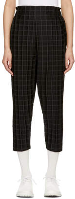 Issey Miyake Black Square Trousers