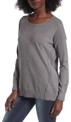 Women's Dreamers By Debut Forward Seam Tunic Sweater $45 thestylecure.com