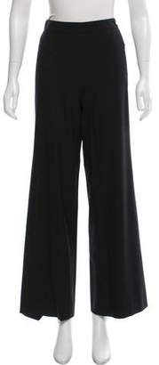 Chanel High-Rise Wide-Leg Pants