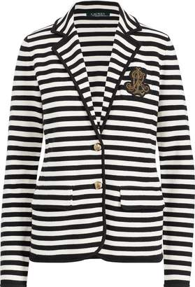 Ralph Lauren Striped Bullion Knit Blazer