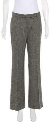 Gunex Mid-Rise Wide-Leg Pants